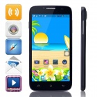 "Mpie H118+ MTK6582 Quad-Core Android 4.2.2 WCDMA Bar Phone w/ 5.0"" IPS, 4GB ROM, GPS - Dark Blue"