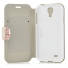 Kinston Flower Tower Patroon PU Leather Case Cover w / Stand / Card Slot voor Samsung Galaxy S4 i9500
