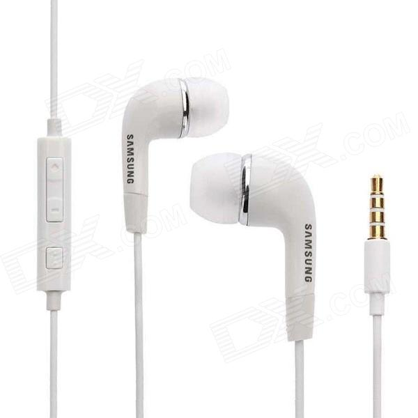 Samsung EHS64 Replacement 3.5mm Premium Stereo Headset - White (Non-Retail Packaging)