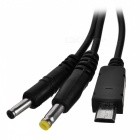 Kinston Universal USB Charging Data Cable for Samsung + More - Black