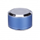 Brilink BS1001 Portable Rechargeable Bluetooth V2.1 + EDR Speaker w/ Mic - Blue + Silver