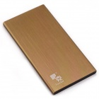 Buccker T12 5V ''6000mAh'' Li-ion Polymer Power Bank for Cellphone / IPAD / PSP - Coffee