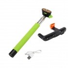 DUALANE Z07-5 Wireless Bluetooth Monopod for iOS4.0 Above System and Android3.0 Above System -Green