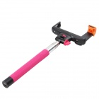 DUALANE Wireless Bluetooth Monopod for iOS4.0 Above System and Android 3.0 Above System - Deep Pink