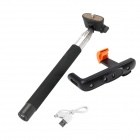 DUALANE Z07-5 Wireless Bluetooth Monopod for iOS4.0 Above System / Android 3.0 Above System - Black