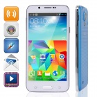 "Plum S5 Dual-Core Android 4.3 GSM Bar Phone w/ 5.0"" QHD, Quad-band and Wi-Fi - Blue"