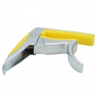 Fzone FC-81 Aluminum Alloy Guitar Capo for 6-String Guitar - Silver + Yellow