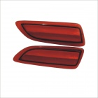 Carking 12V Rear Bumper Reflector Brake Lights for Toyota Carola 2011 (2 PCS)