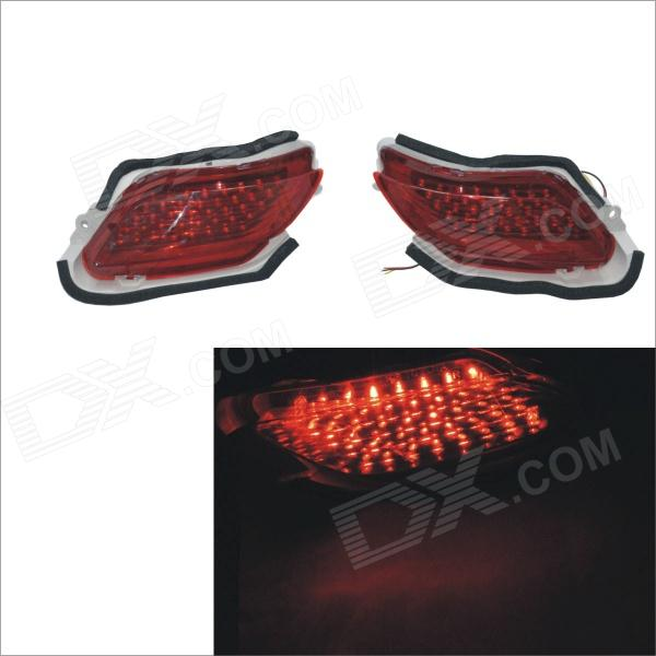 Carking 12V Rear Bumper Reflector Brake Lights for Toyota Vios (2 PCS)
