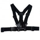 Fixed Chest Strap w/ Mount for Gopro Hero - Black