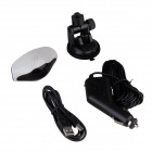 "1.5"" TFT 5MP CMOS Full HD 1080P Car DVR Camcorder w/ IR Night Vision - White + Black"