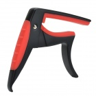 Fzone FC-81 Aluminum Alloy Guitar Capo for 6-String Guitar - Black + Red