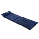 Wind Tour WT1101821 Handy Outdoor Damp-proof Self-inflating Picnic Camping Mat w/ Pillow - Deep Blue