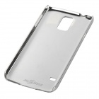 Stylish Brushed Metal Aluminum Back Case for Samsung Galaxy S5 - Silver