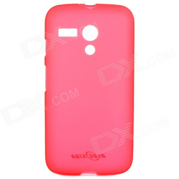 Protective PVC + TPU Back Case for Motorola MOTO G / MOTO DVX / XT1031 / XT1032 - Red
