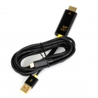 MyDP SlimPort to HDMI + USB Adapter / Conversion Cable - Black (180cm)