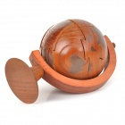 Educational Sandal Wood Tellurion Toy Brick - Wood + Brown