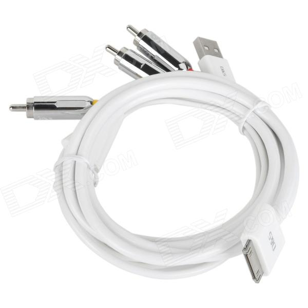 mfi-dsm1203-rca-usb-male-to-apple-30pin-male-audio-video-cable-for-iphone-ipad-ipod-150cm