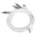 MFi DSM1203 RCA USB Male to Apple 30pin Male Audio Video Cable for iPhone / iPad / iPod (150cm)