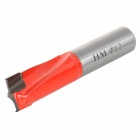 Tiger Head Woodworking Cemented Carbide Drill Bit Tapper Tool - Silver Grey + Orange