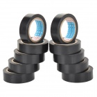 Electrical Insulation PVC Adhesive Tape - Black (10 PCS)