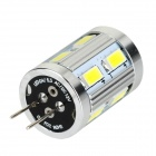 G4 3W 200lm 6500K 12-5730 SMD White Light Lamp - Silver + Multicolored (DC 12V)