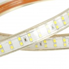 JR impermeável 26W 1800lm 6500K 180-2835 SMD White Light Strip - Branco + Bege (AC 220V / 1m)