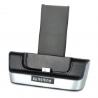 Sunshine 5V 1.6A Charging Dock + 3.8V 3150mAh Li-ion Battery + Cable for Samsung Galaxy S5 - Black