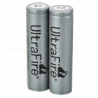 UltraFire 3.7V 2400mAh 18650 LC Protected Bateria 2-Pack