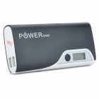 "YD441 Dual USB 5V 1A / 2A ""12000mAh"" Li-Ion Power Bank / torcia per HTC + More - bianco"