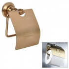 Toilet Tissue Holder Roll Paper Dispenser - Antique Brass