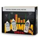"BENETECH GM1356 2.2"" LCD Digital Sound Level Meter - White + Black (4 x AA)"