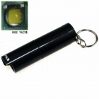 ALETO KL253H Cree XM-L T6 1-LED 650lm 3-Mode White Light Flashlight w/ Keychain - Grey (1 x 16340)