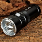 UltraFire U3 1300lm 3-LED Cool White 4-Mode Tactical Flashlight - Black (3 x 18650)
