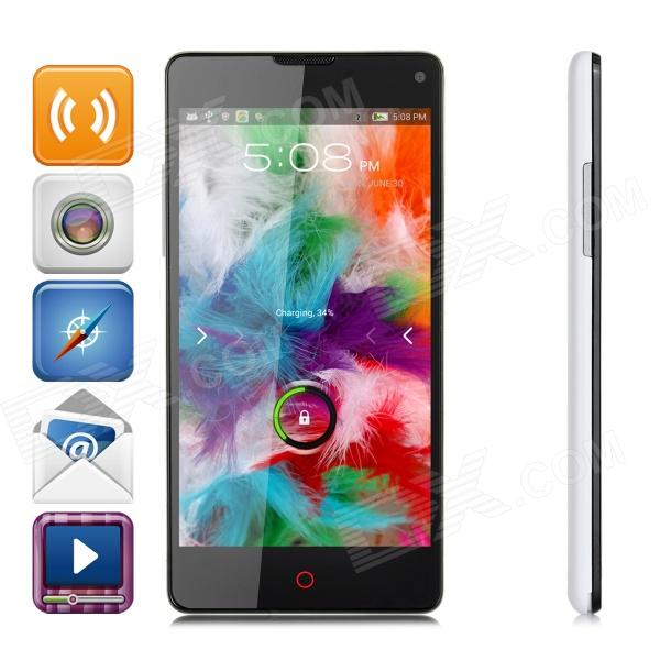 ZTE Nubia Z5S Mini Android 4.2 Quad-core WCDMA Bar Phone w/ 4.7 Screen, RAM 2GB and ROM 16GB huawei honor 3c quad core android4 4 2 wcdma bar phone w 5 0 screen 16gb rom 2gb ram bluetooth