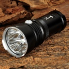 UltraFire U-4 1700lm 4-LED Cool White 4-Mode Tactical Flashlight - Black (3 x 18650)