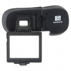 Nanguang CN-2N800 Foldable Plastic Fixation Eye Shade for Nikon Camera D800 - Black