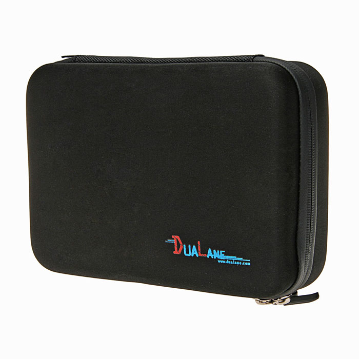 DUALANE C00904 Super Large Protective EVA Camera Storage Bag for Gopro Hero 4/ 3+ / 3 / 2 - Black