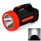 EUPEK UP530 Rechargeable 12-SMD 5730 LED 280lm + LED 180lm White Spotlight Flashlight - Black + Red