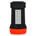 EUPEK UP530 rechargeable 12-SMD 5730 LED 280lm 180lm Blanc Spotlight Flashlight + LED - Noir + rouge