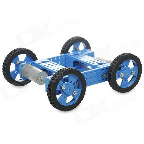 22T DIY 1:90 Assembled High Torque 1-CH 2.4GHz R/C Off-Road Car Model Toy - Black + Blue
