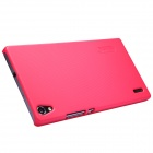 NILLKIN Protective PC Back Case w/ Screen Protector for Huawei Ascend P7 - Deep Pink