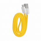 IHAVE IB0390 USB Male to Micro USB Male Charging Data Cable for HTC / Samsung + More - Yellow (90cm)