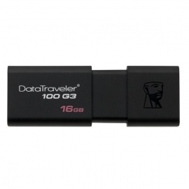 Kingston Digital DT100G3/16GB 16GB DataTraveler G3 USB 3.0 Drives