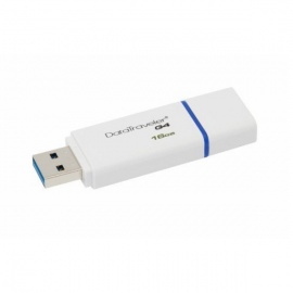 Kingston Digital DTIG4/16GB 16GB DataTraveler G4 USB 3.0 Drives Blue