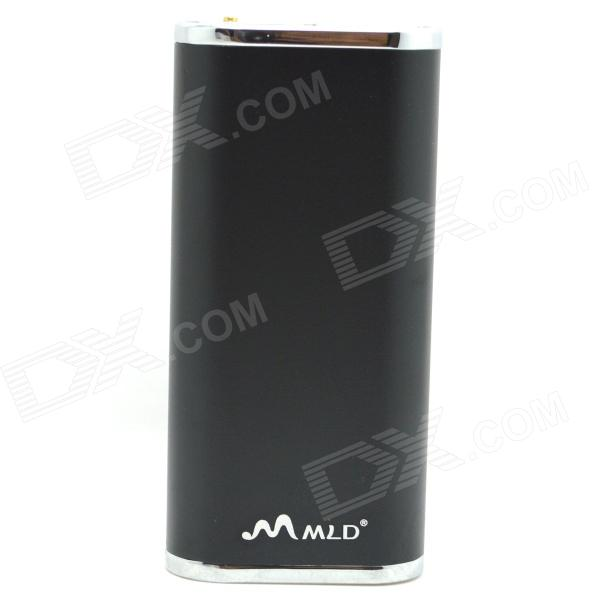 WLD WLD-18 6000mAh External Li-ion Battery Power Bank for IPHONE / IPAD / Cellphone / MP3 - Black