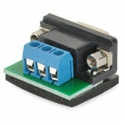 RS232 to RS485 Interface Communication Connector - Black + Blue