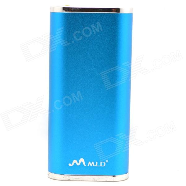 WLD WLD-18 6000mAh External Battery Charger Power Bank for IPHONE / IPAD / Cell Phone / MP3 - Blue