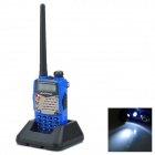 "BAOFENG UV-5RA 1.5"" LCD 5W Dual Band 128-CH Walkie Talkie w/ 1-LED Flashlight - Blue"