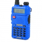 "BAOFENG BF-UV5R 1.5""Dual Band 128-CH Walkie Talkie w/Torch - Blue"